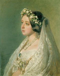 Queen Victoria's wedding gown