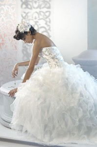 reserve your wedding dress