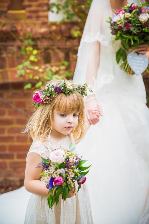 Celebrate the Surprising Flower Girl Evolution