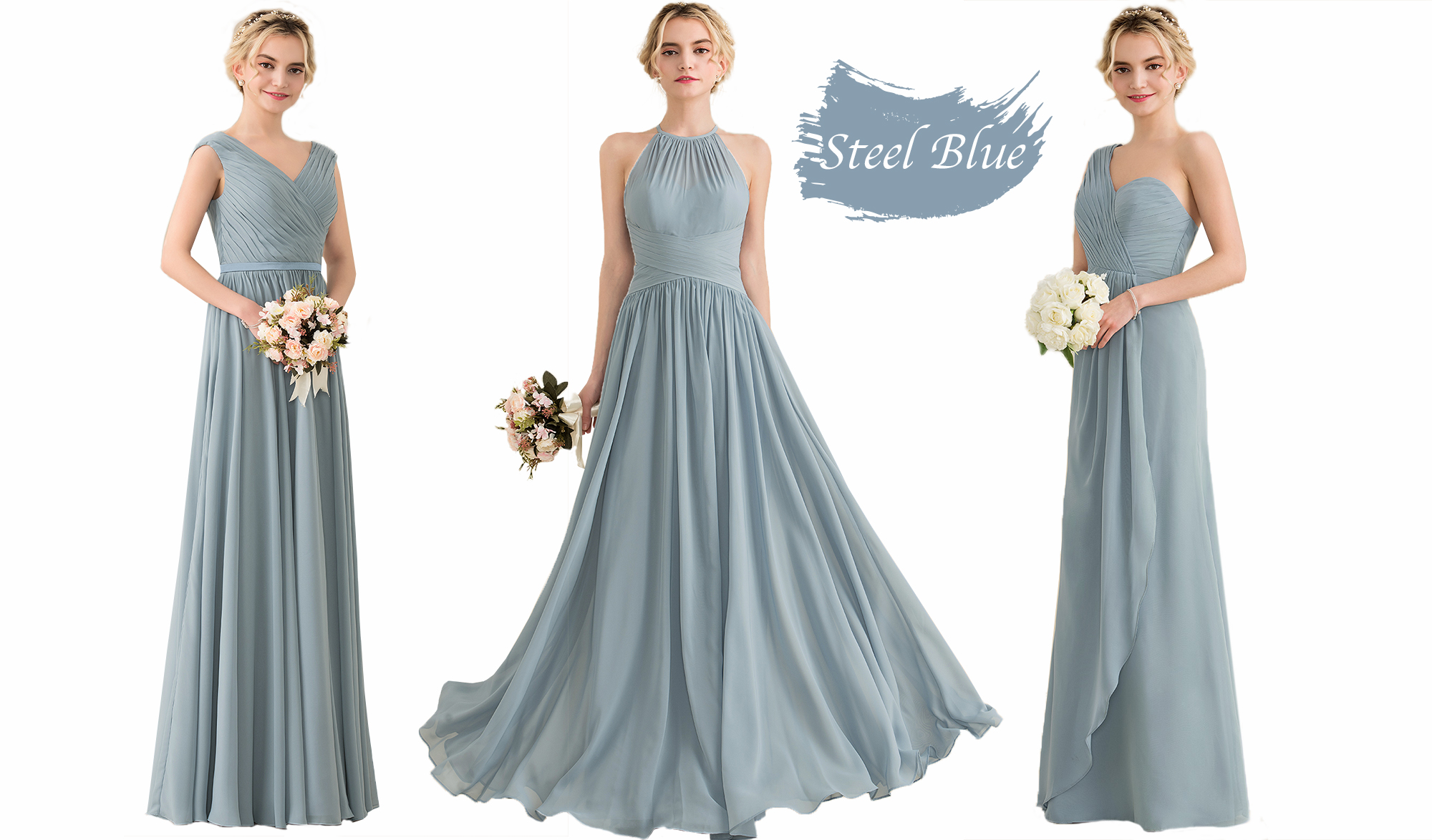The New Bridesmaids Dress Colours Have Arrived! | JJsHouse