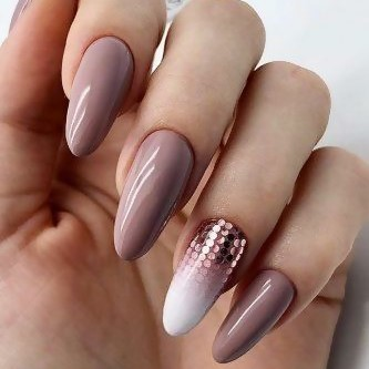 Long Nail Design is Back! Nude, Meat Shade Acrylic Nails.