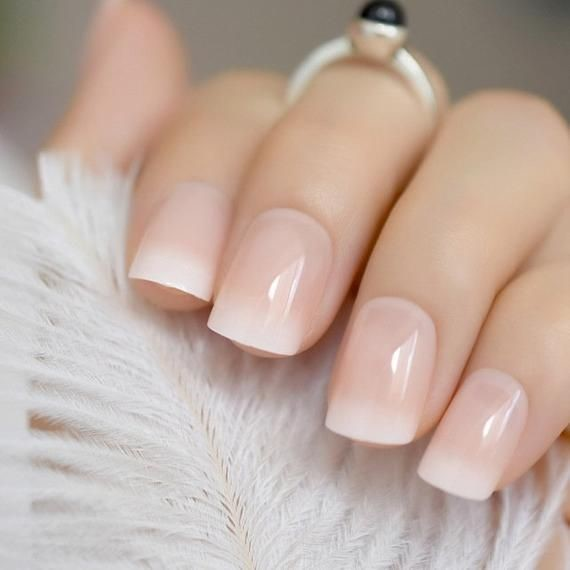 Traditional yet timeless neutral bridal nail art